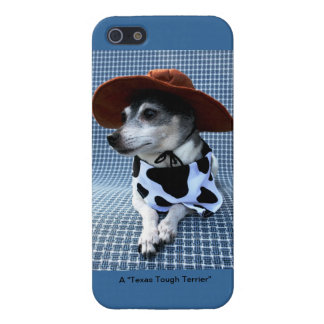 Texas Tough Terrier Cover For iPhone 5/5S