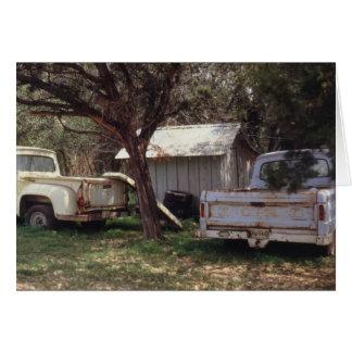 Texas Trucks Notecard
