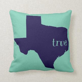 Texas True Throw Pillow