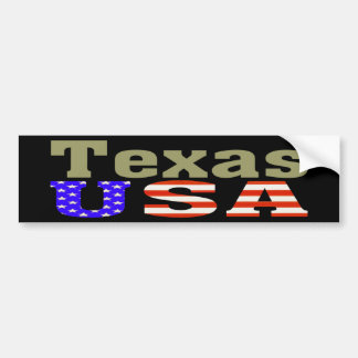 Texas USA! Bumper Sticker