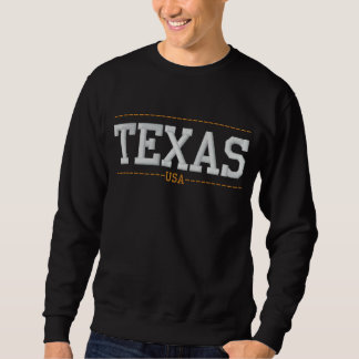 Texas USA Embroidered Sweatshirts