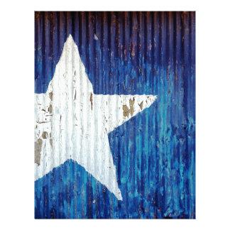 Texas Usa United States America Letterhead