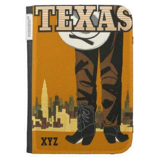 Texas USA Vintage Travel cases Cases For The Kindle