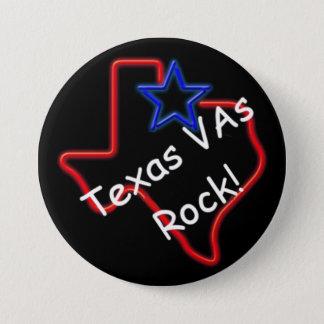 """Texas VAs Rock 3"""" Button"""