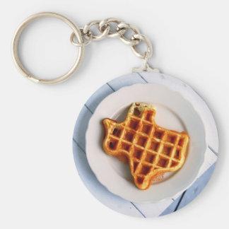 Texas Waffle Keychain