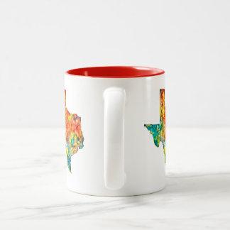 Texas Watercolor Customizable Coffee Mug