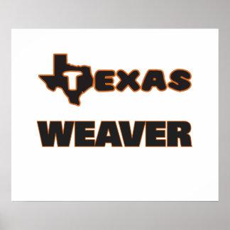 Texas Weaver Poster