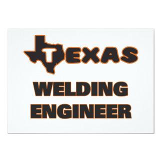 Texas Welding Engineer 5x7 Paper Invitation Card