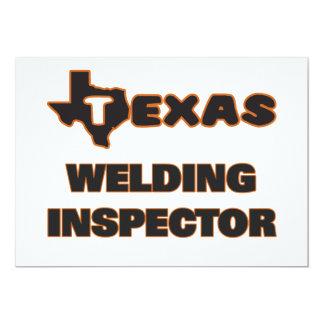 Texas Welding Inspector 5x7 Paper Invitation Card