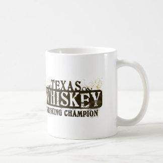Texas Whiskey Drinking Champion Coffee Mug