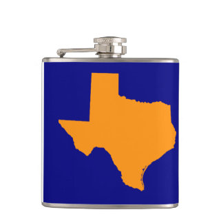 TEXAS WHISKEY FLASK