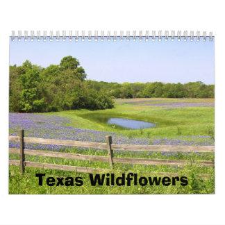 Texas Wildflowers Calendar
