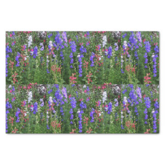 Texas Wildflowers Tissue Paper