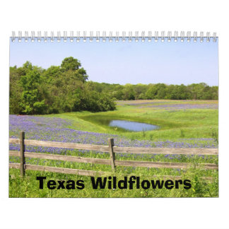 Texas Wildflowers Wall Calendars