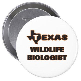 Texas Wildlife Biologist 4 Inch Round Button