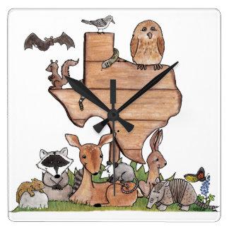 Texas Wildlife Clocks