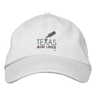 Texas Wine Lover Adjustable Hat