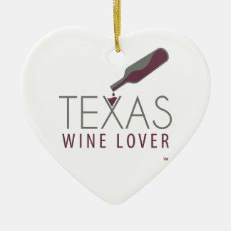 Texas Wine Lover Ornament