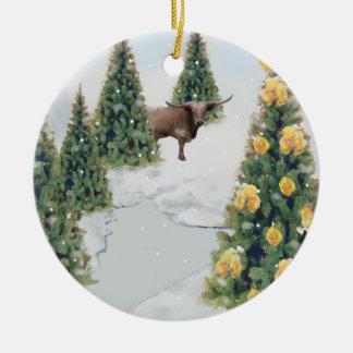 Texas Winter ornament