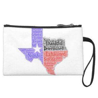 Texas Word Cloud Mini Clutch
