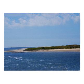 Texel Coastline Postcard
