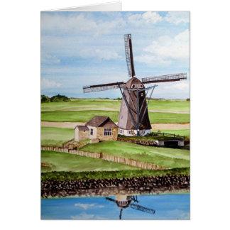 Texel Island, Holland Card