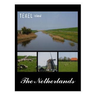 Texel Island Postcard