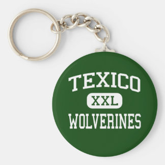 Texico - Wolverines - High - Texico New Mexico Keychain