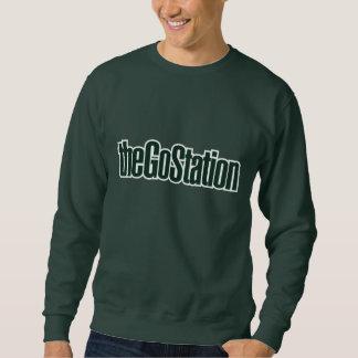 Text logo sweatshirt