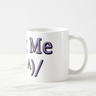 Text Me Basic White Mug