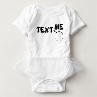 TEXT ME HI BABY BODYSUIT