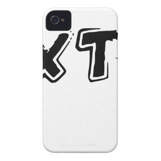 TEXT ME HI iPhone 4 CASE