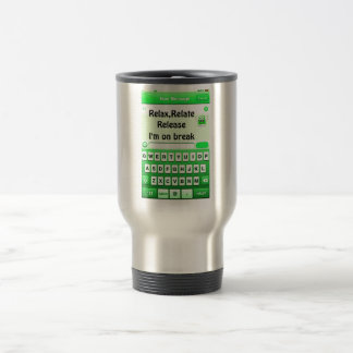Text Me_ Stainless Steel Travel Mug