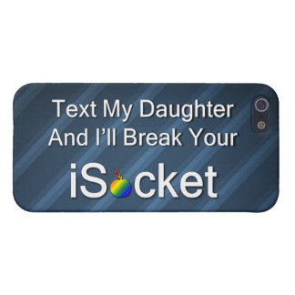 Text My Daughter iPhone 5/5S Covers