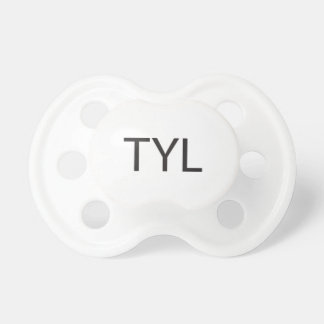 Text You Later -or- Thank You Lord ai Baby Pacifier