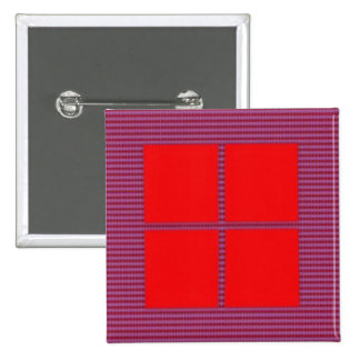 TEXT your SQUARES Template 2 Inch Square Button