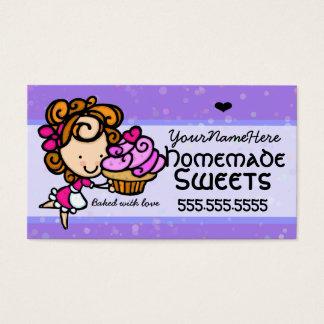 Texte-couleur faite maison de cartes de visite