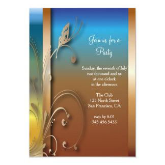 Texte polyvalent de la célébration | carton d'invitation  12,7 cm x 17,78 cm