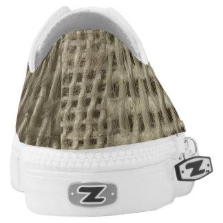 Textile fibres texture shoes