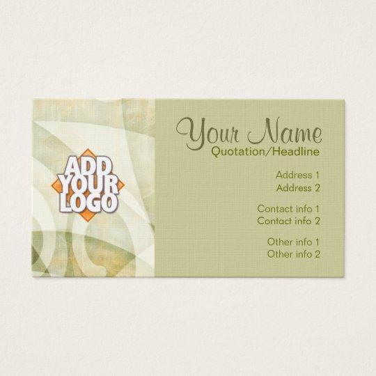Textile Flow Business Card
