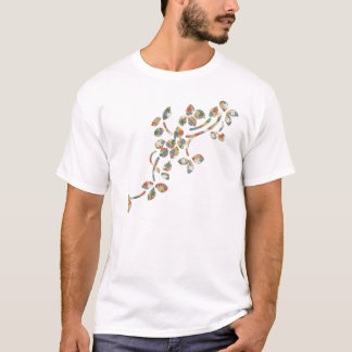 Textile Leaves T-Shirt