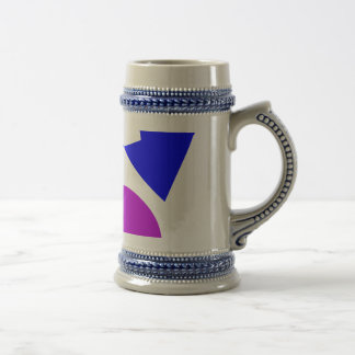 Textile Pattern Beer Stein