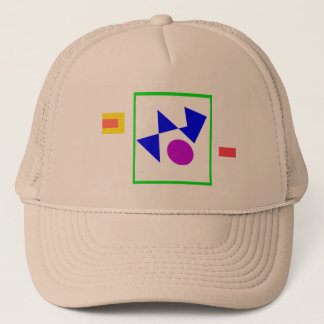 Textile Pattern Trucker Hat