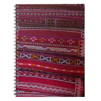 Textile Pillow Patterns Notebook