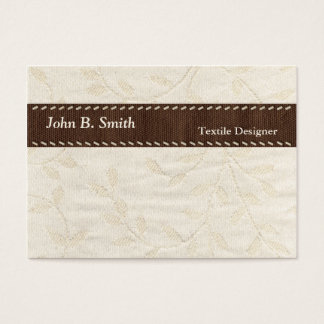 Textile Texture Business Card