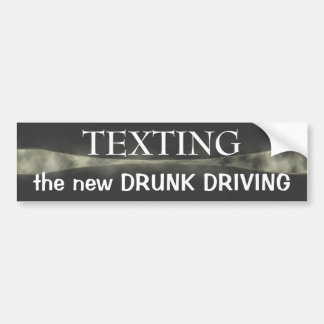 Texting ~ bumper sticker