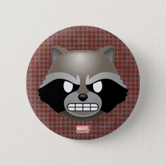 Texting Rocket Emoji 2 Inch Round Button
