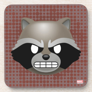 Texting Rocket Emoji Coaster