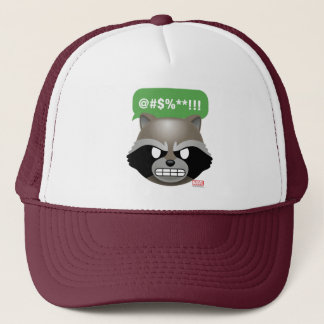 Texting Rocket Emoji Trucker Hat