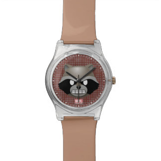 Texting Rocket Emoji Watch